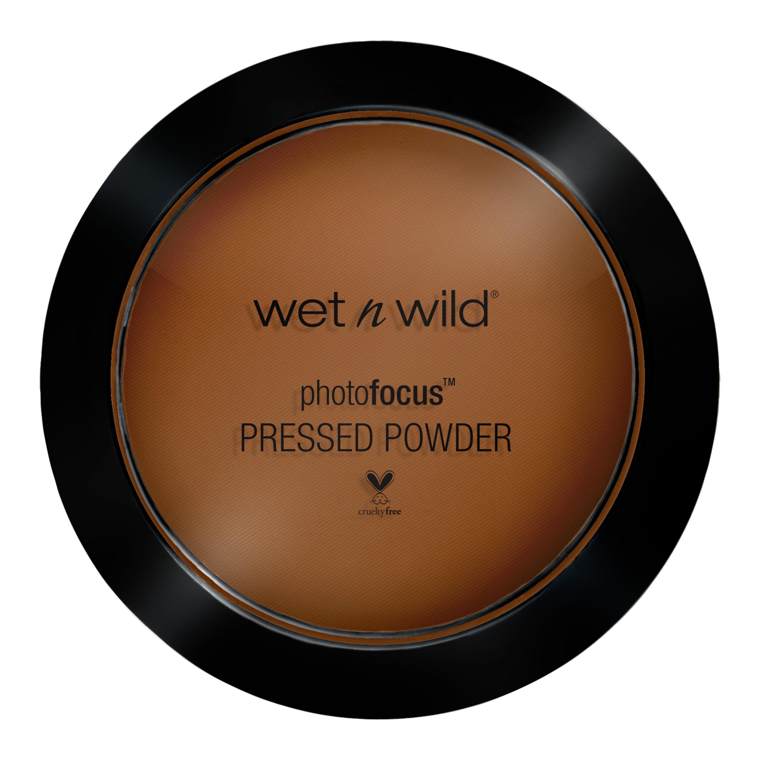 wet n wild Photo Focus Pressed Powder, Dark Café