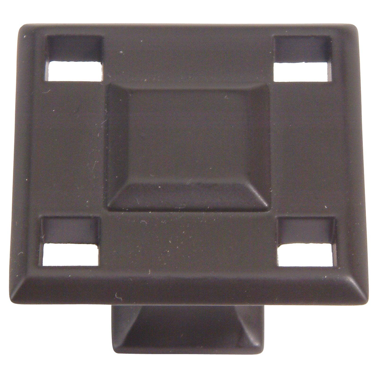 Modern Craftsman 1-3/8 in. Oil Rubbed Bronze Cabinet Knob