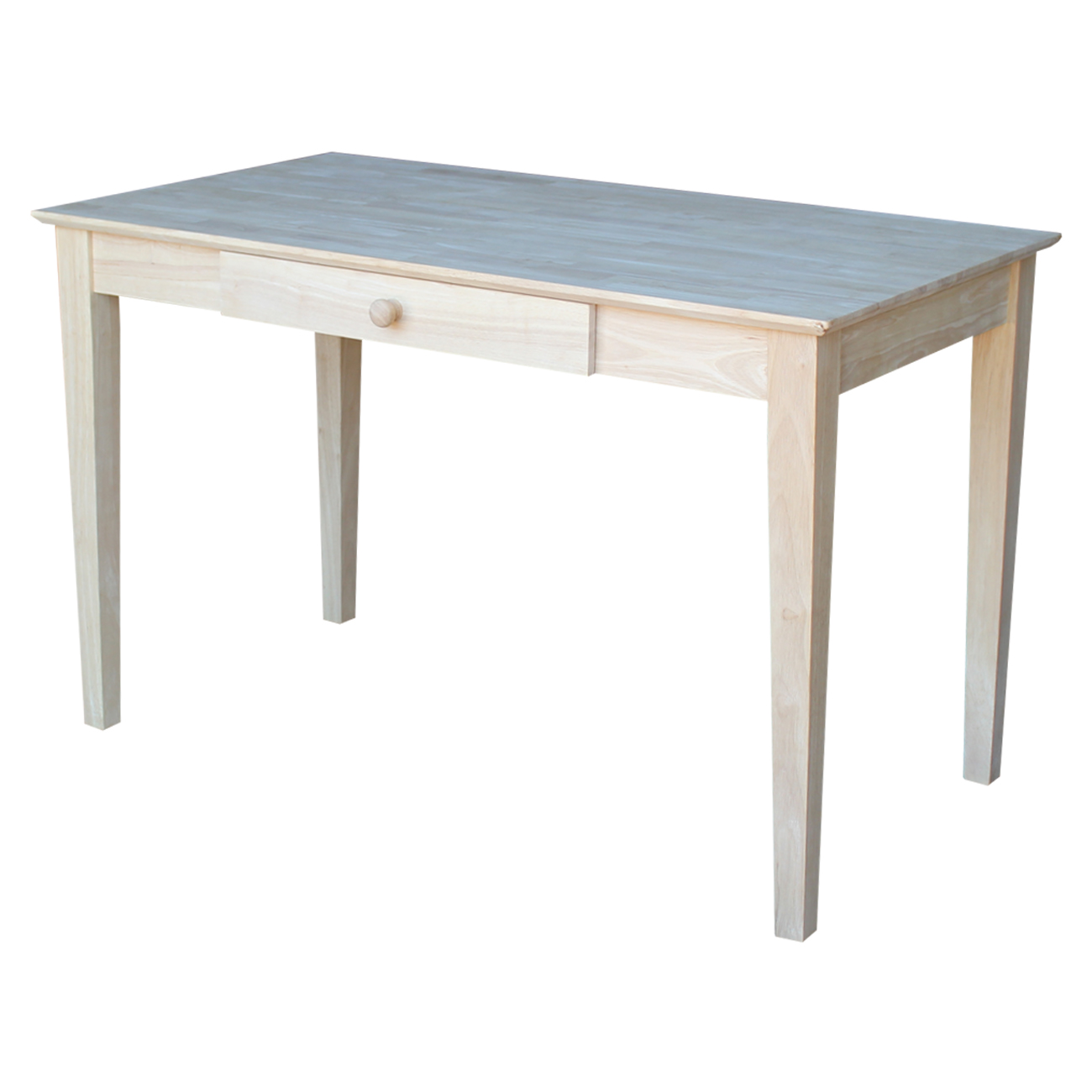 Unfinshed Writing Desk with Drawer