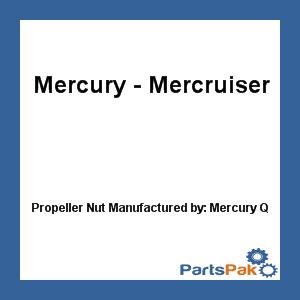 Mercury - Mercruiser 11-46335 Mercury Quicksilver 11-46335 Propeller Nut-