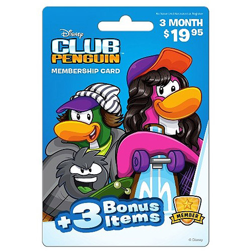 Club Penguin 3 Month $19.95