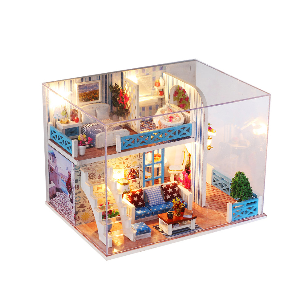 Miniature Super Mini Size Doll House Model Building Kits
