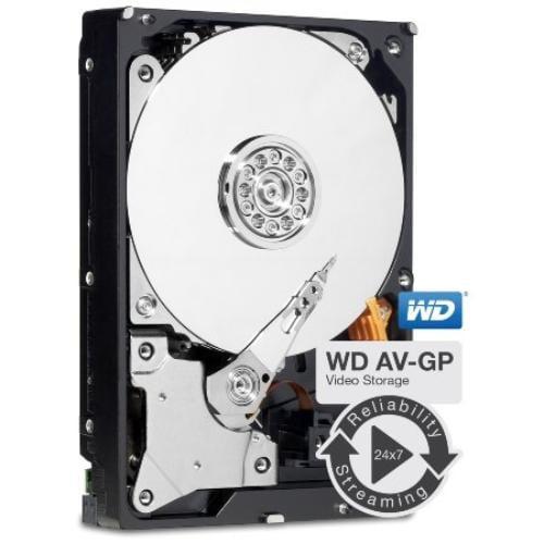 """Wd Av-gp Wd20eurx 2 Tb 3.5"""" Internal Hard Drive - Sata - 64 Mb Buffer (wd20eurx-20pk)"""