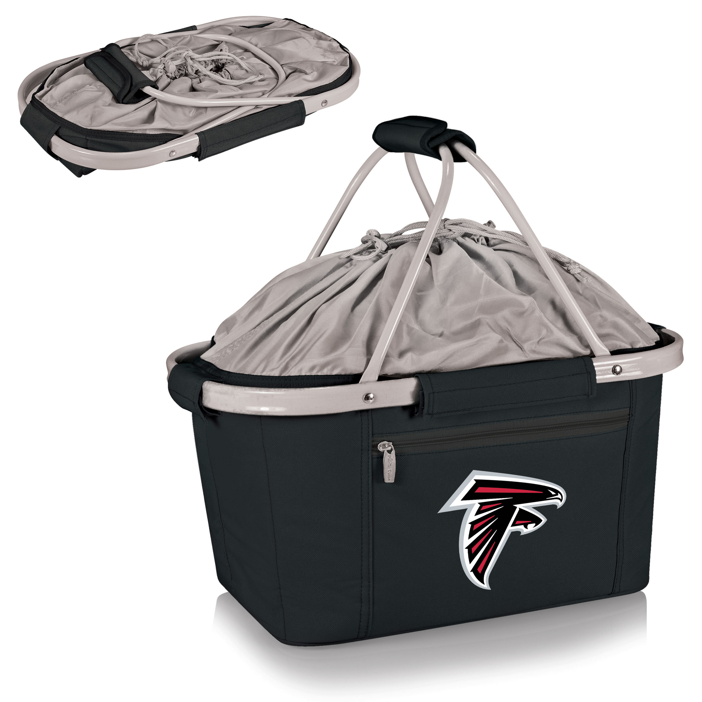 Atlanta Falcons Metro Basket Collapsible Tote - Black - No Size