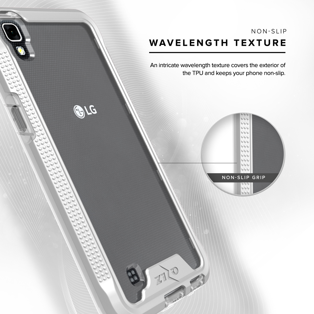 sale retailer 3e5c3 aa6db Zizo ION Series compatible with LG Tribute HD Case Military Grade Drop  Tested with Tempered Glass Screen Protector LG X Style Case