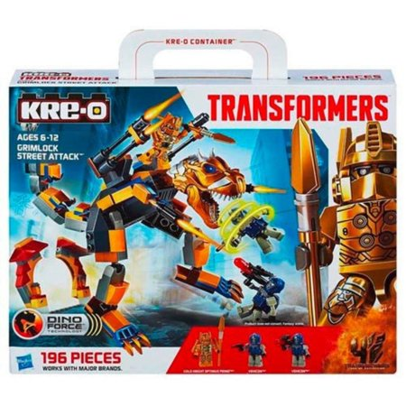 Kre O Transformers Dino Force Grimlock Street Attack