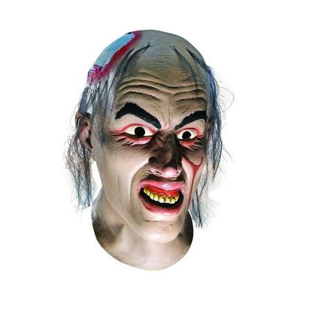 Texas Chainsaw Massacre Chop Top Overhead Latex Adult Mask One - Massacre Mask