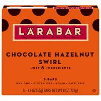 Larabar, Chocolate Hazlenut Swirl, 5 Ct, 8 Oz