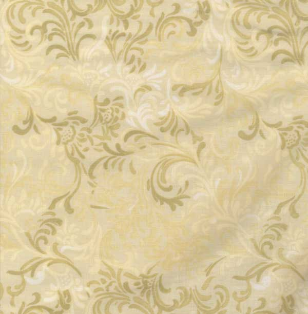 Wilmington Prints Candlelight Flourish Scroll 108 Inch Wide Quilt Back Print