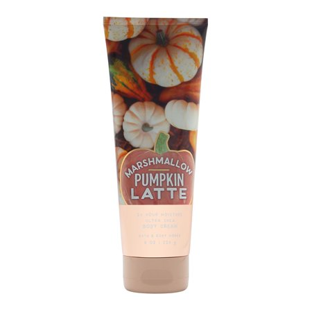 Bath & Body Works Marshmallow Pumpkin Latte 8.0 oz Ultra Shea Body (Bath And Body Works Merry Marshmallow Kiss Lotion)