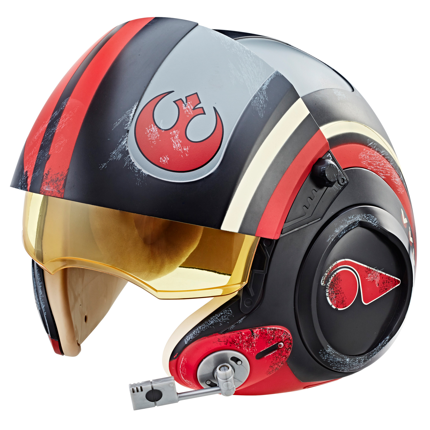 Star Wars The Black Series Poe Dameron Electronic X-Wing Pilot Helmet by Hasbro