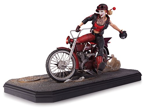 DC Collectibles: Gotham City Garage Harley Quinn Statue by DC Collectibles