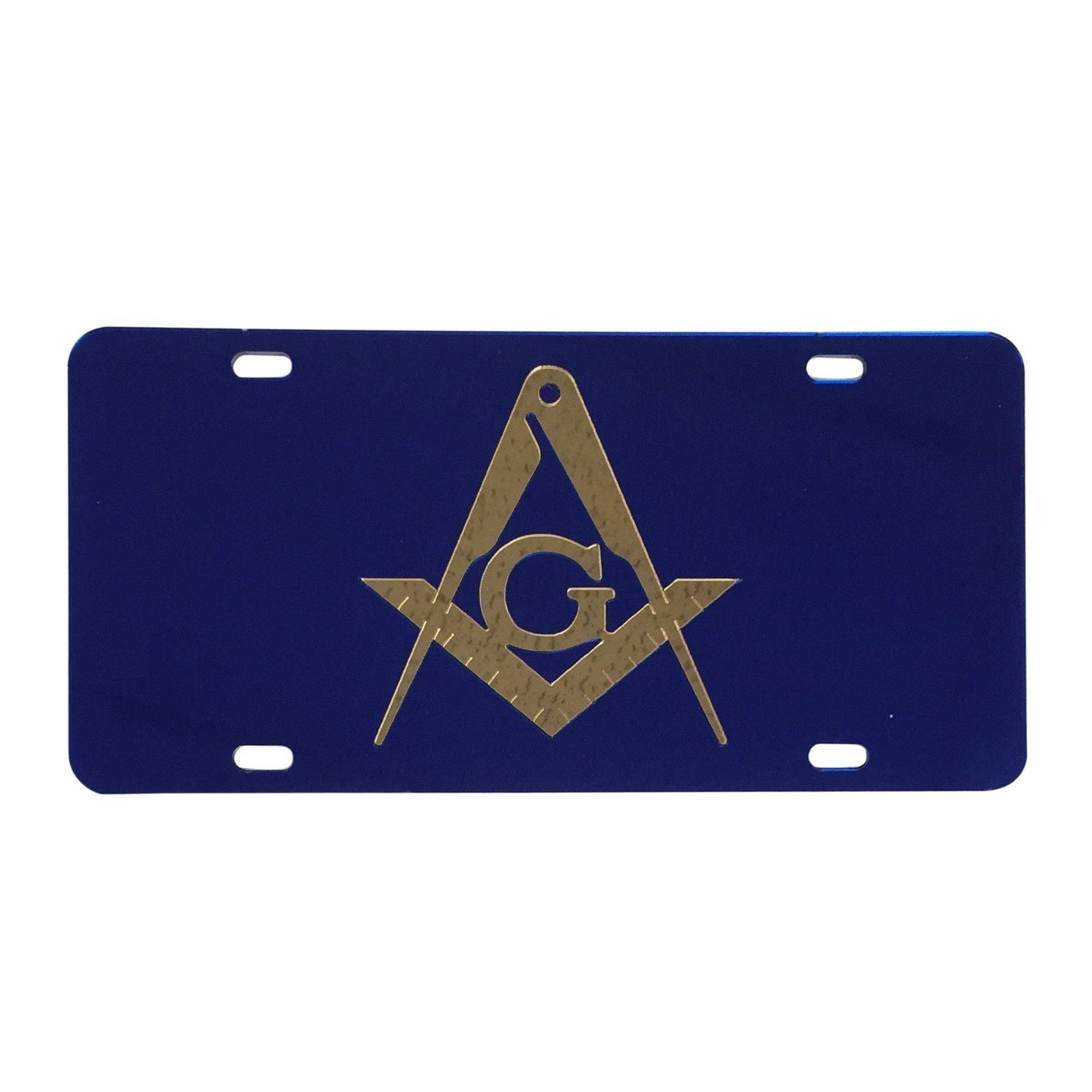 #2012 Masons Car Tag