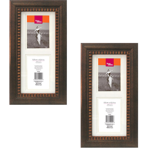 Better Homes and Gardens Ornate Collage Photo Frames, Bronze, Set of 2