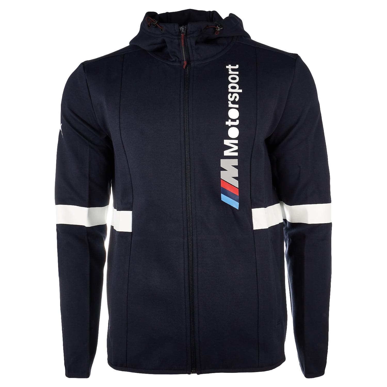 Puma BMW Motorsport Hooded Sweat Jacket - F Team Blue - Mens - L