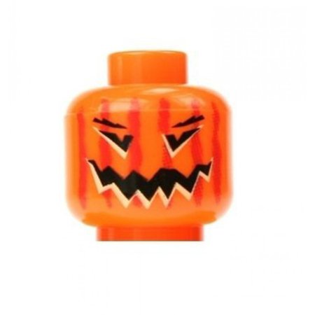 LEGO Pumpkin Minifigure Head Halloween Jack-O-Lantern](Happy Halloween Logo 2017)