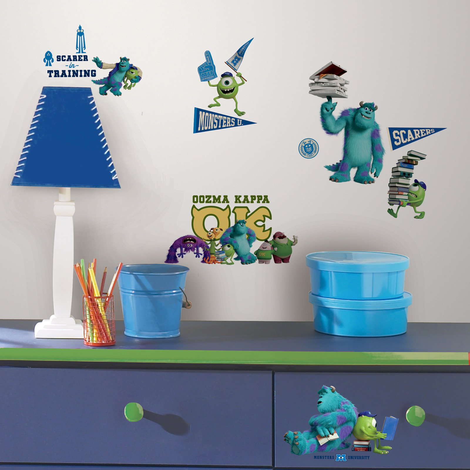 Monsters University Peel and Stick Wall Decals