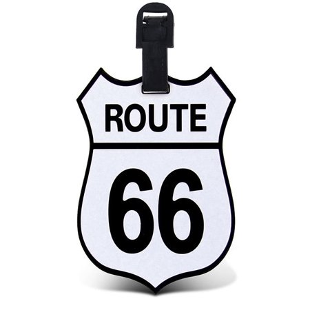 En Route Luggage Tag (Puzzled, Inc. Luggage Tags Route 66 )