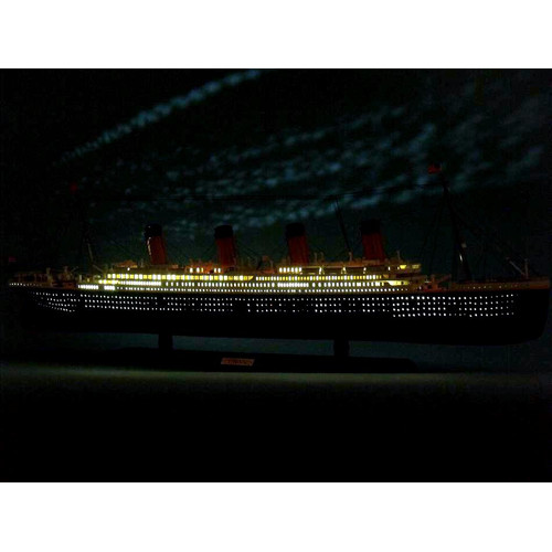 Handcrafted Nautical Decor RMS Titanic 40'' Limited Model Cruise Ship with LED Lights