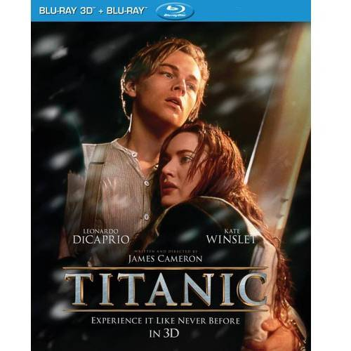 Titanic (3D Blu-ray + Blu-ray) (With INSTAWATCH) (Widescreen)