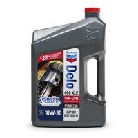 Chevron Delo 400 XLE Synblend SAE 10W-30 Heavy Duty Motor Oil, 1 gallon
