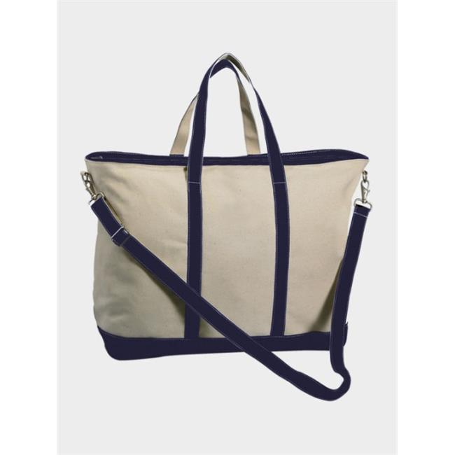 Peerless CAN03XL-Navy Extra Large Sailing And Boat Tote Bag, Navy
