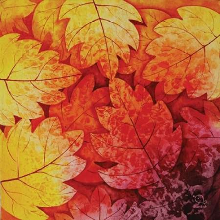 Autumn Hues I Poster Print by Blue Fish ()