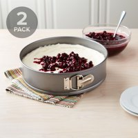 Deals on 2-Pack Tasty 10-inch Springform and Cheesecake Pan Non-Stick