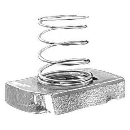 SUPER-STRUT B100 1/4 Channel Short Spring Nut