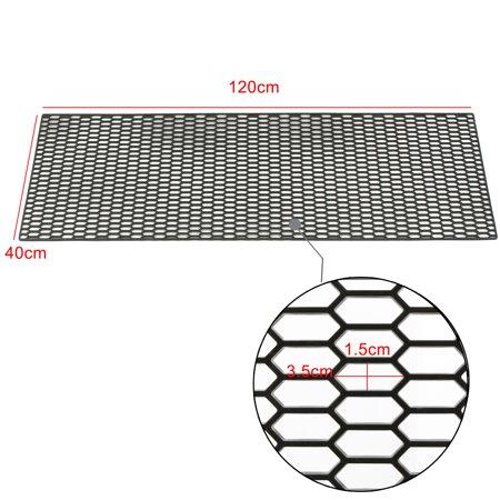 120 x 40cm ABS Plastic Universal Car Vent Honeycomb Hexagon Grill Mesh For  BENZ