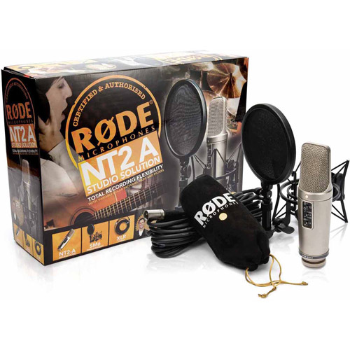 Rode NT2A Anniversary Vocal Condenser Microphone Package by Rode