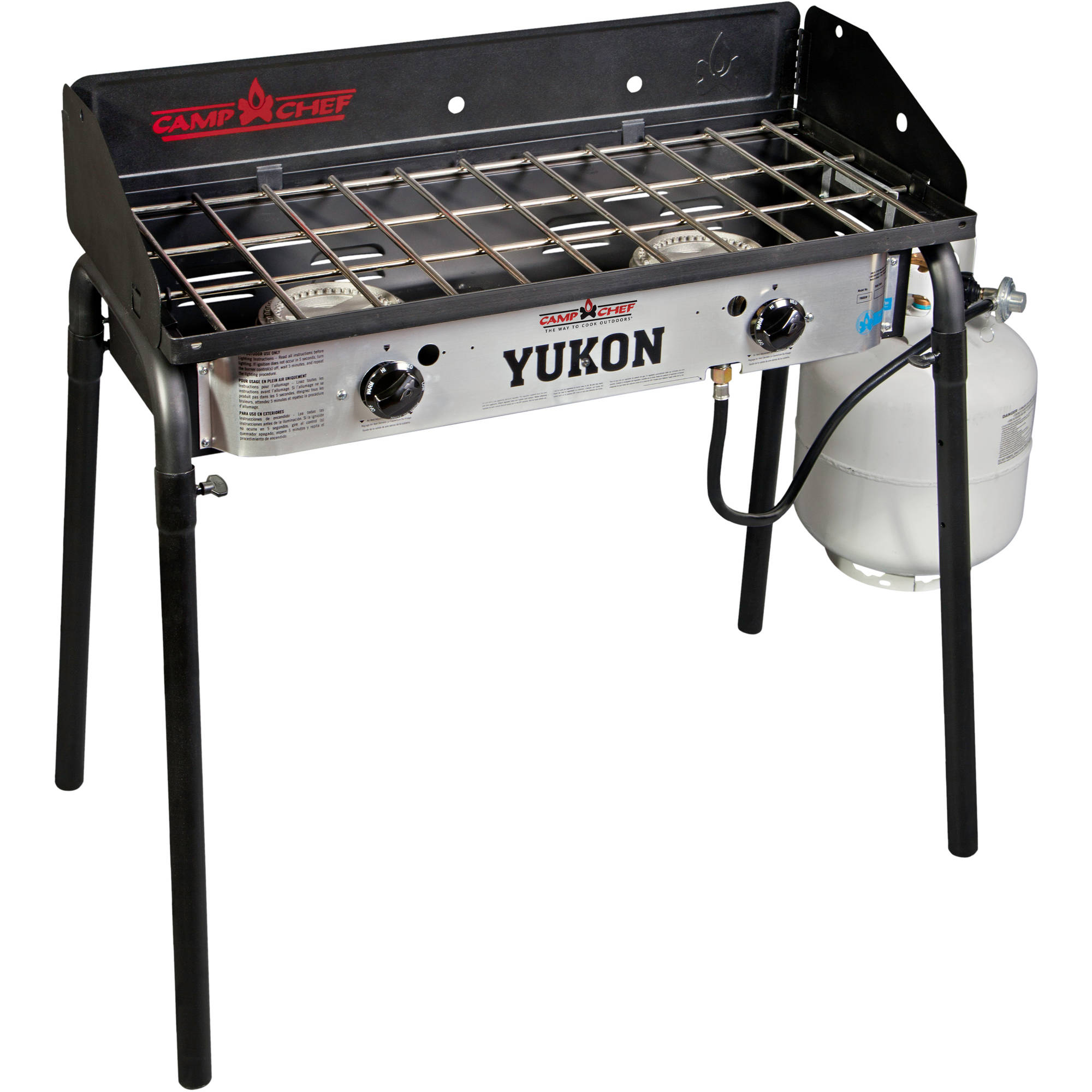 Camp Chef YK60LW Yukon Two Burner Range Camp Stove