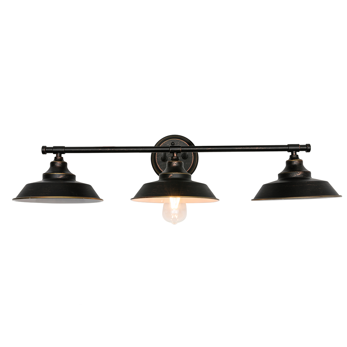 Industrial Wall Sconces Left BAYCHEER Vintage Creative Hand Shaped Wall Lamp Wall Light Fixtures with UL Listed Bulb Socket for Bedroom Kitchen Restaurant Cafe Bar LOFT Warehouse