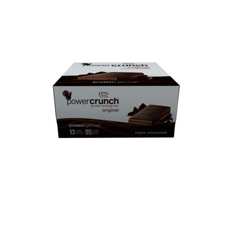 Power Crunch Protein Energy Bar, Triple Chocolate, 13g Protein, 12