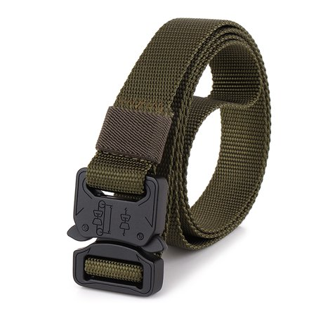 Lixada Quick Release Belt with Heavy Duty Buckle for Outdoor Camping Mountaineering Climbing