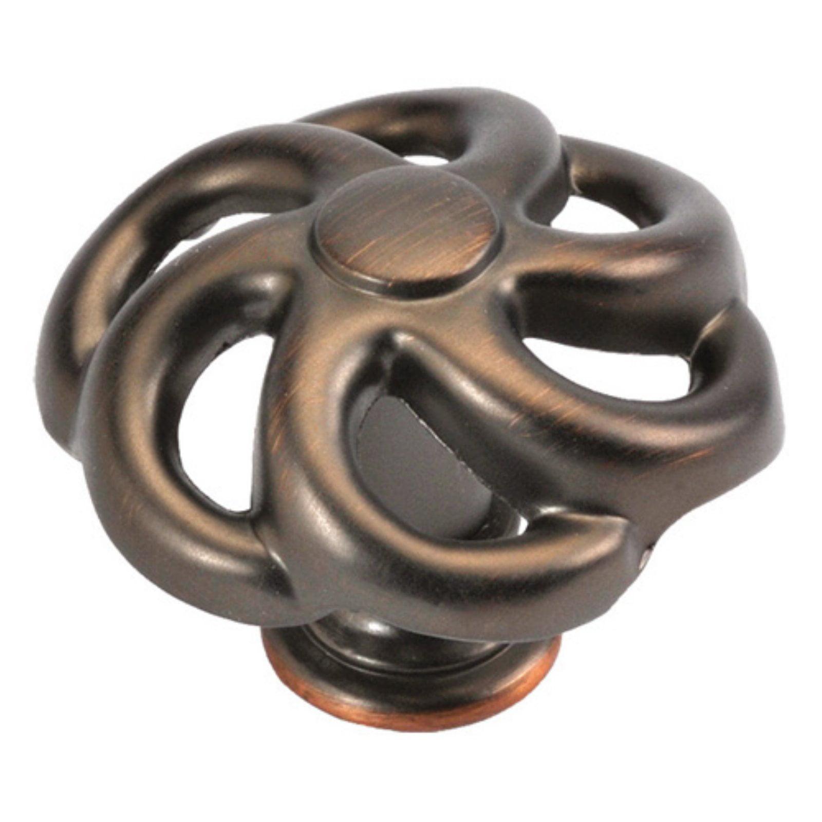 Hickory Hardware 1.5 in. Charleston Blacksmith Cabinet Knob