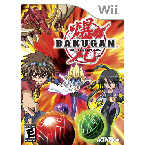 Bakugan NINTENDO Wii Game BRAND NEW!