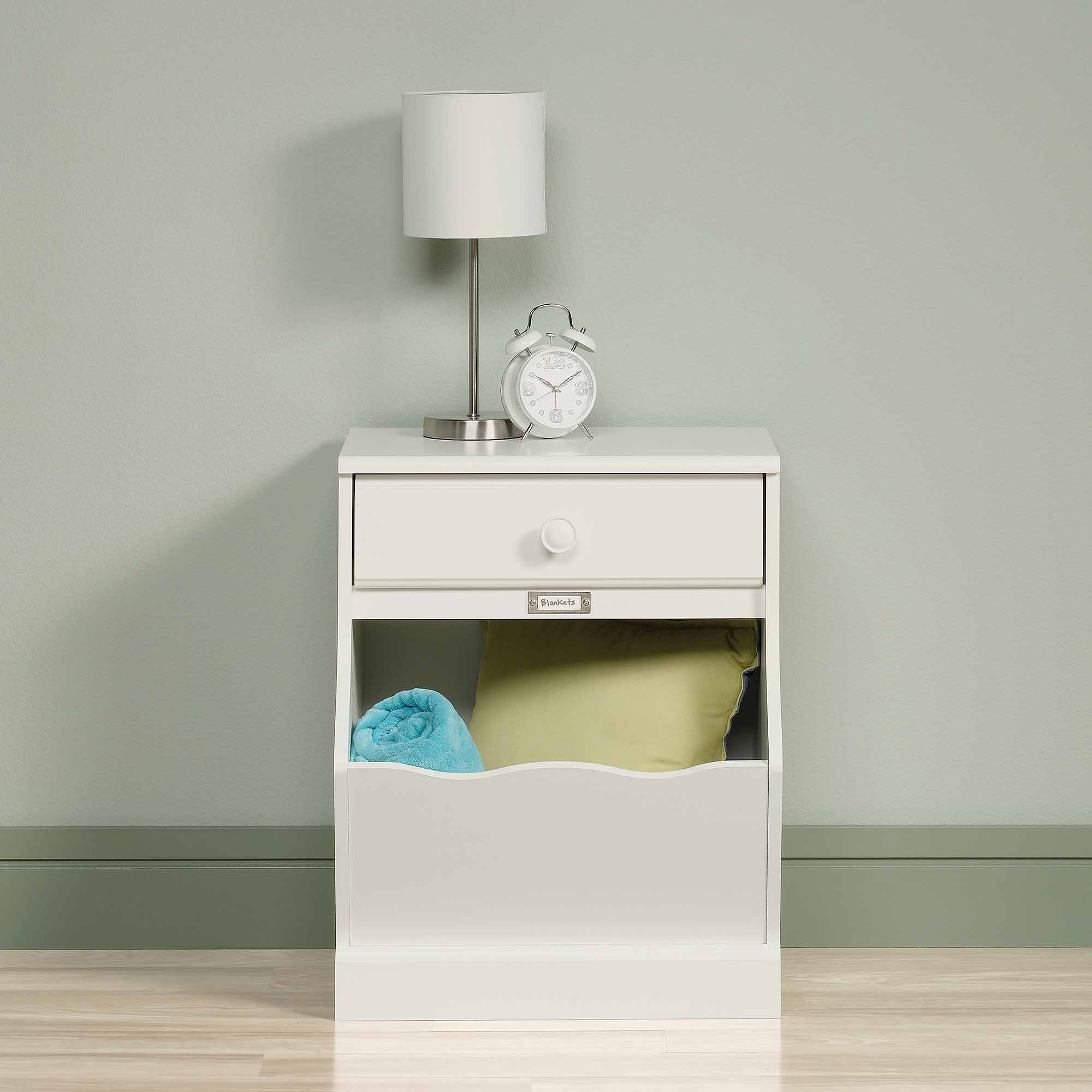 Sauder Storybook Nightstand Soft White Walmart