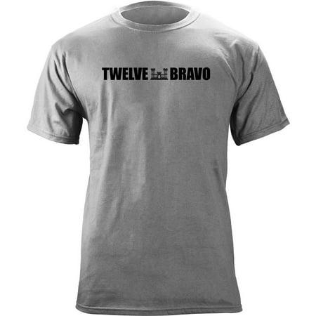 Army Combat Engineer MOS 12 Bravo 12B Veteran T-Shirt Army Combat Uniform Coat