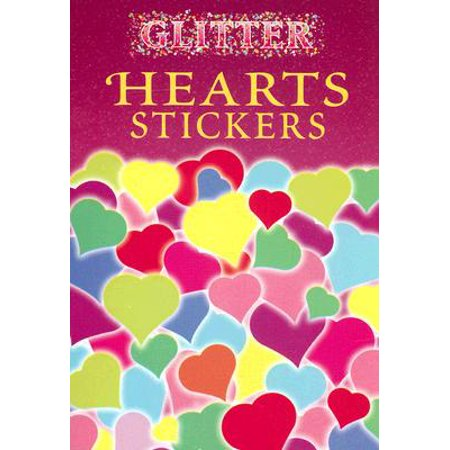 Glitter Hearts Stickers](Heart Stickers)