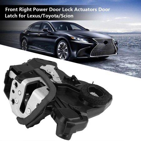 Tbest Front Right Power Door Lock Actuators Door Latch for Lexus/Toyota/Scion 69030-06200 69030-0C050, 69030-0C050, Front Right Door Lock