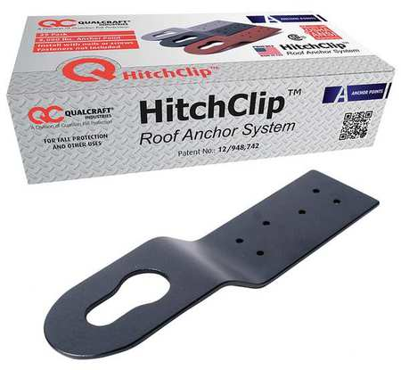 GUARDIAN 10566 HitchClip Residential Anchor Black, PK24
