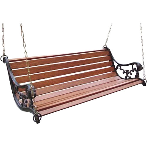 Lions Head Porch Swing Bench