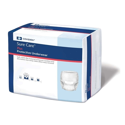 Surecare Protective Underwear, EXTRA LARGE, Heavy Absorbency Pull On, 1625 - Pack of 14