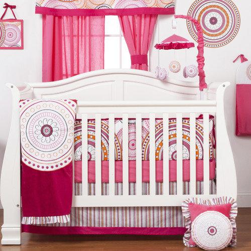 One Grace Place Sophia Lolita 4 Piece Crib Bedding Set