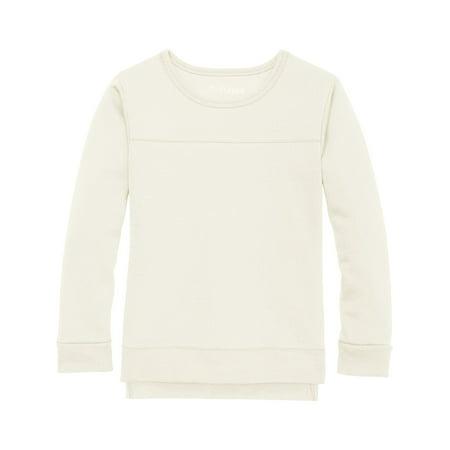 - Solid Fleece Hi-Lo Sweatshirt (Little Girls & Big Girls)