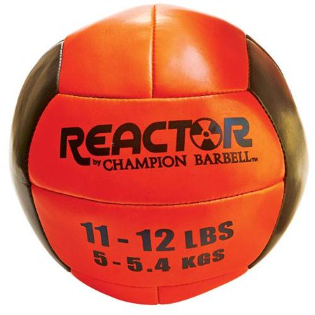 Reactor by Champion Barbell™ 11-12 lb Medicine Ball