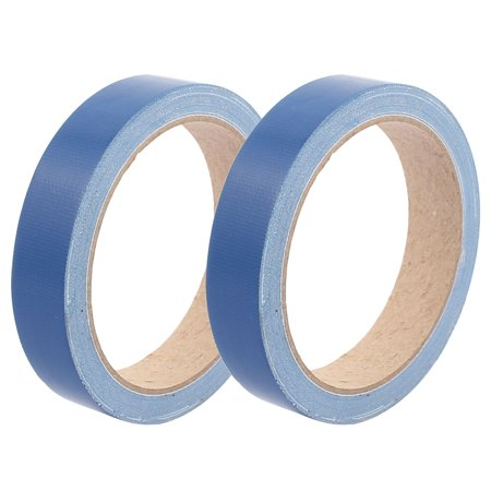 2pcs 20mm Width Dark Blue Strong Single-sided Duct Tape Waterproof 10M - Navy Blue Duct Tape