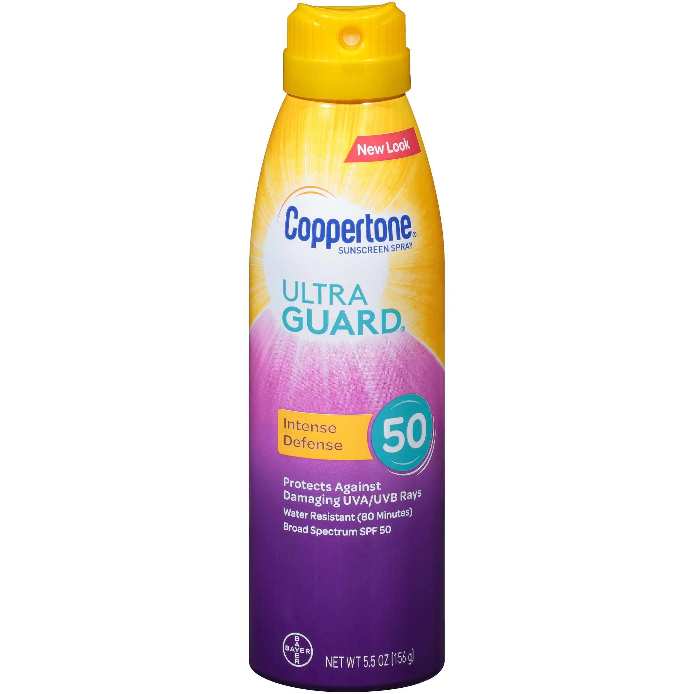 Coppertone Ultra Guard Sunscreen Continuous Spray SPF 50, 5.5 oz
