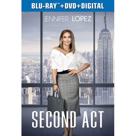 Second Act (Blu-ray + DVD + Digital Copy)